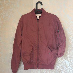 H&M Dark Pink/Red Bomber Jacket